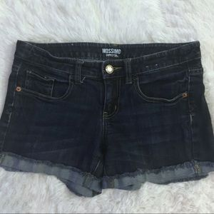 Mossimo Cuffed Distressed Jean Shorts size 7